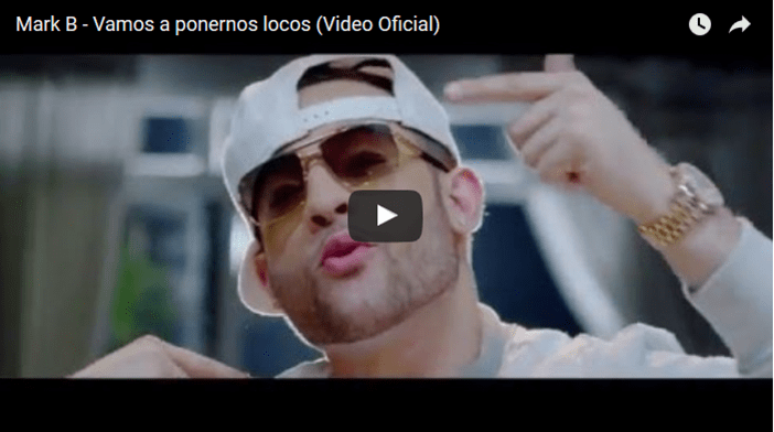 Mark B – Vamos a ponernos locos (Video Oficial)