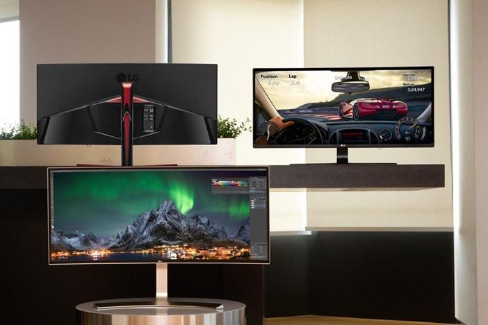 LG anuncia nuevos monitores súper anchos con Google Cast