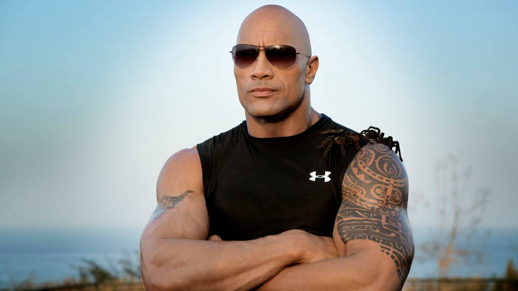 """""""La Roca"""" Johnson es el actor mejor pagado del mundo"""