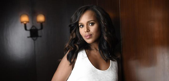 Kerry Washington da a luz a un varón