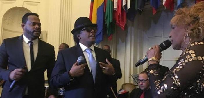 Artistas dominicanos cantaron en fiesta de la OEA